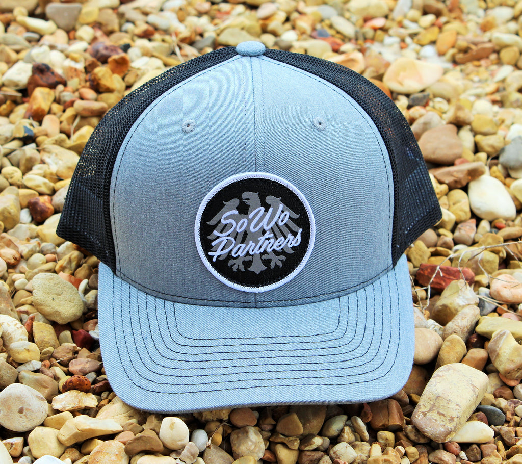 Grey/Black Trucker Snap Back
