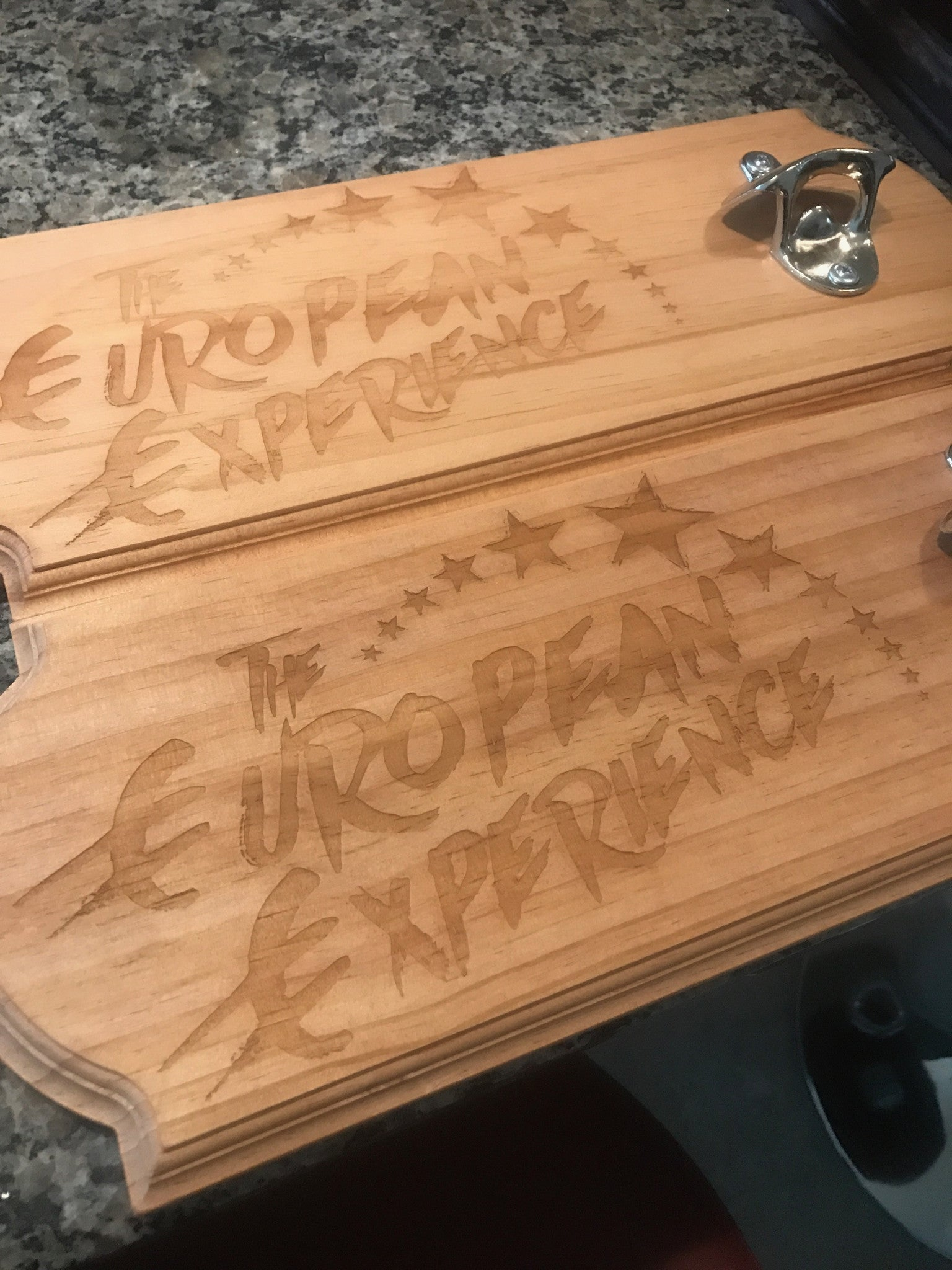 European Experience Bottle Opener