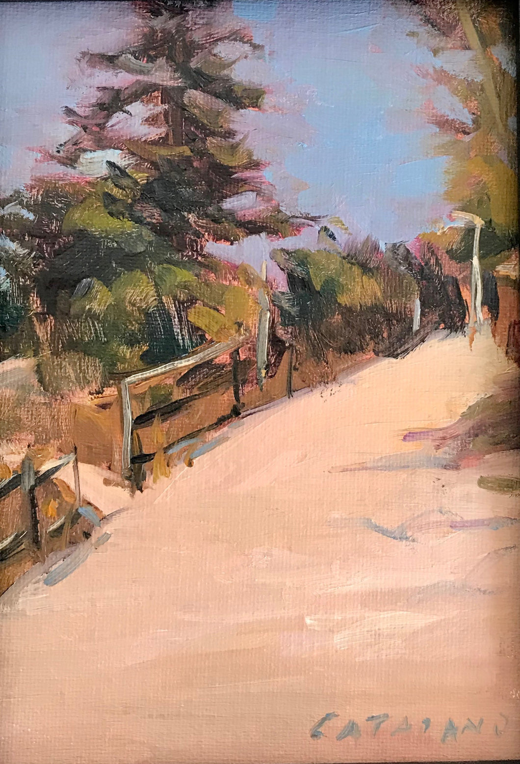 The Way Home  | 5x7 | Original Oil Painting