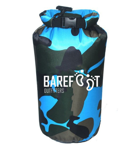 BAREFOOT OUTFITTERS 10L DRY BAG Blue