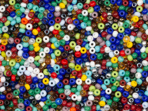 Mix Beads 11/0,  Mix, Czech Glass