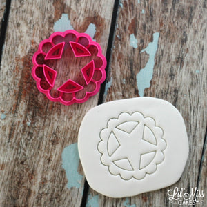 Badge of Liberty Cutter | Lil Miss Cakes