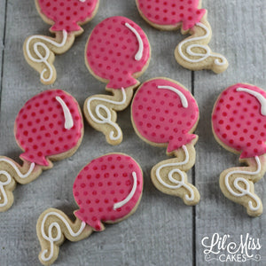 Balloon Cookies | Lil Miss Cakes