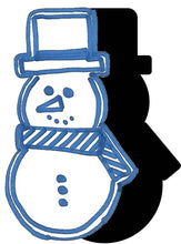 Load image into Gallery viewer, Snowman (w/ Hat & Scarf) #4