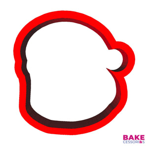 Santa Claus Face Cookie Cutter