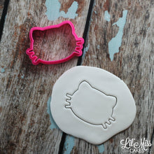 Load image into Gallery viewer, Cat With Whiskers Cutter | Lil Miss Cakes