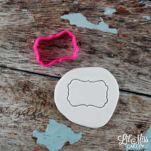 Debbie Plaque Cutter | Lil Miss Cakes