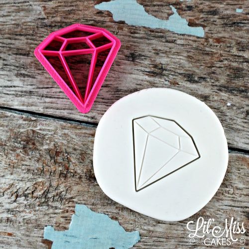 Diamond Imprint Cutter | Lil Miss Cakes