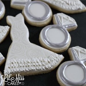 Diamond Ring Cookies | Lil Miss Cakes