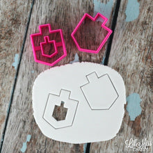 Load image into Gallery viewer, Dreidel Set of 2 | Lil Miss Cakes