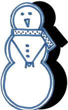 Load image into Gallery viewer, Snowman (w/ Scarf) #1