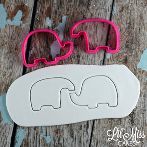 Elephant Cutter Set | Lil Miss Cakes