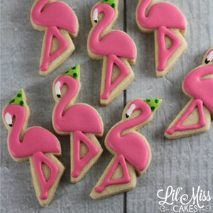 Flamingo Cookies | Lil Miss Cakes