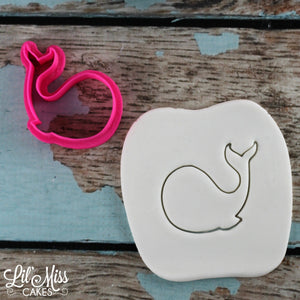 Happy Whale Cutter | Lil Miss Cakes