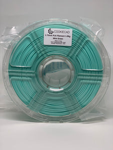 Mint Green PLA Filament 1.75mm, 1kg