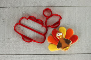 Thanksgiving Turkey Cutter Set