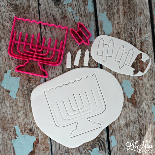 Light A Cookie Menorah | Lil Miss Cakes