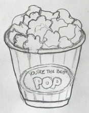 Load image into Gallery viewer, Movie Popcorn Cookie Cutter