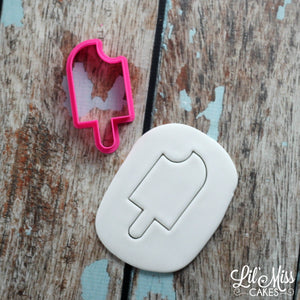 Popsicle Simple Bite Cutter | Lil Miss Cakes
