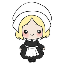 Load image into Gallery viewer, Pilgrim Girl Cutter