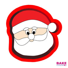Load image into Gallery viewer, Santa Claus Face Cookie Cutter