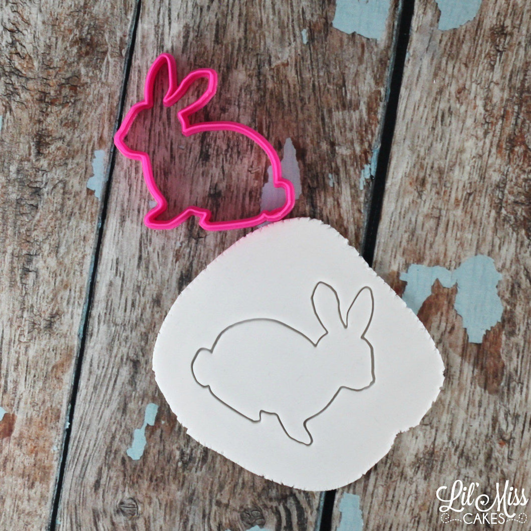 Bunny Rabbit Cutter | Lil Miss Cakes