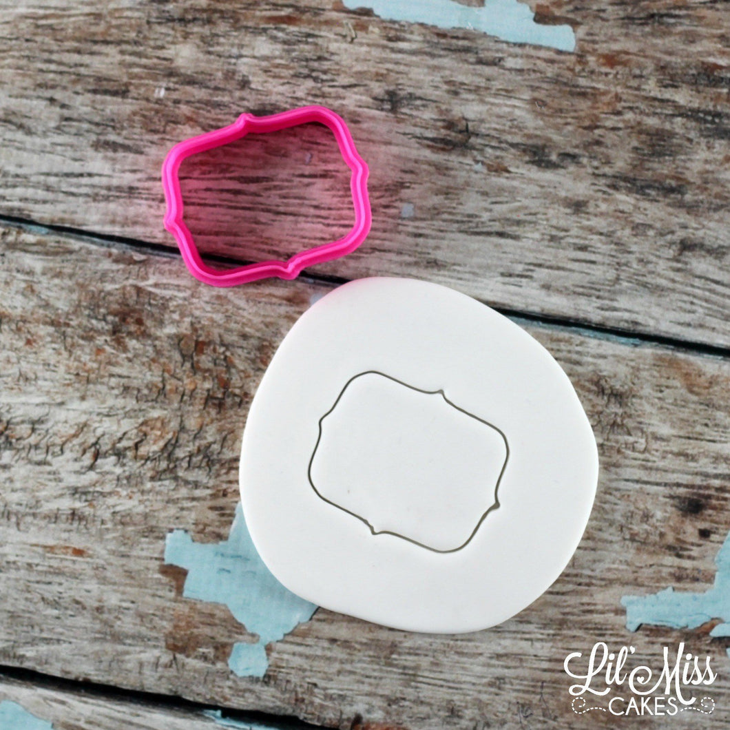 Simi Plaque Cutter | Lil Miss Cakes