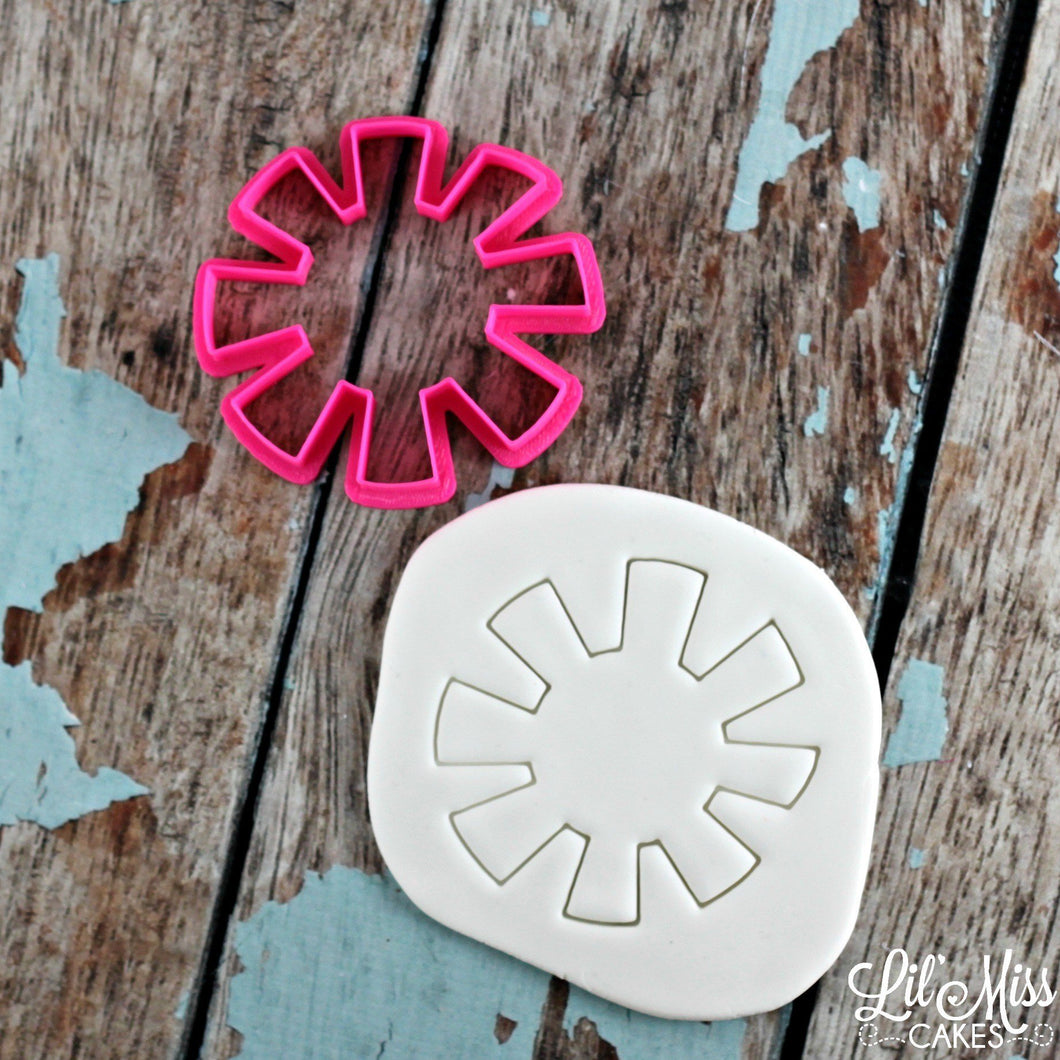 Simple Sun Cutter | Lil Miss Cakes