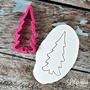 Skinny Holiday Tree | Lil Miss Cakes