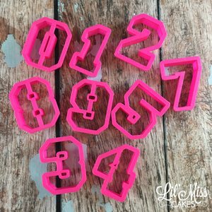 Sports Numbers Cutters | Lil Miss Cakes