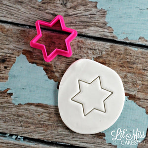 Star of David | Jewish Star Cutter | Lil Miss Cakes