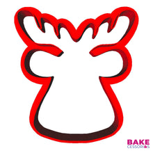 Load image into Gallery viewer, Reindeer Cookie Cutter