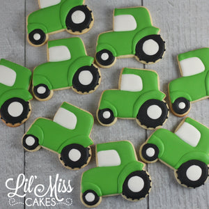 Tractor Cookies | Lil Miss Cakes