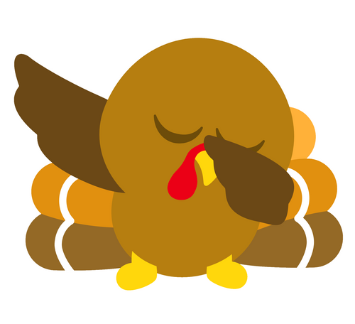 Dabbing Turkey Cutter