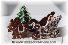 Load image into Gallery viewer, Tunde's Santa's Sleigh, 3D set