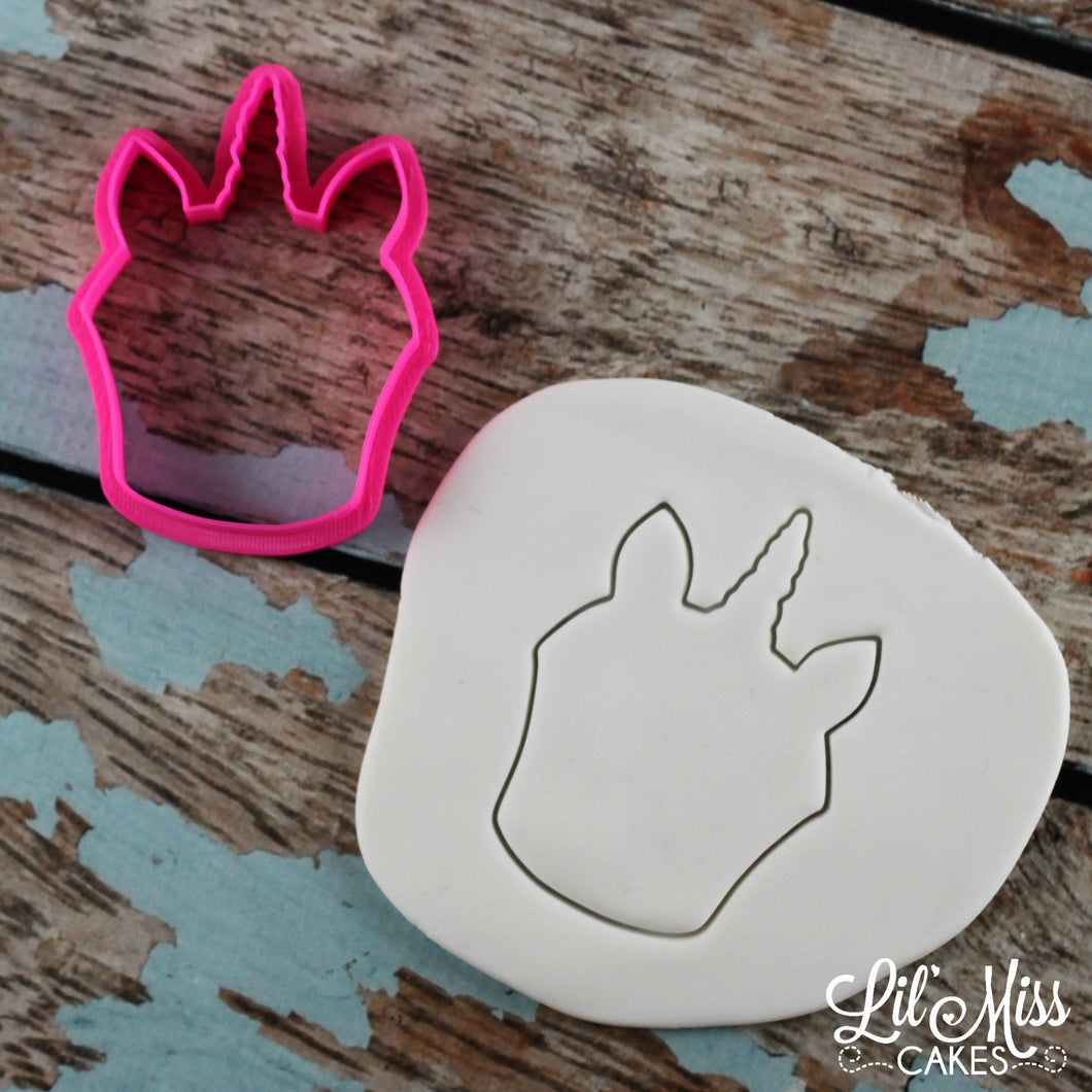 Unicorn Cupcake Cutter | Lil Miss Cakes