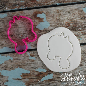 Unicorn Face Cutter | Lil Miss Cakes
