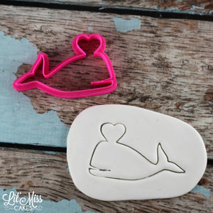 Whale Love Cutter | Lil Miss Cakes