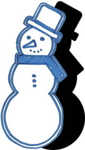 Load image into Gallery viewer, Snowman (w/ Hat & Scarf) #1