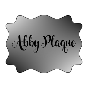 Abby Plaque Cutter
