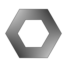 Load image into Gallery viewer, Hexagon Linzer Cookie Cutter