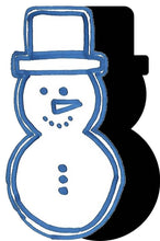 Load image into Gallery viewer, Snowman (w/ Hat) #4