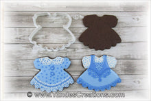 Load image into Gallery viewer, baby dress cookie cutter