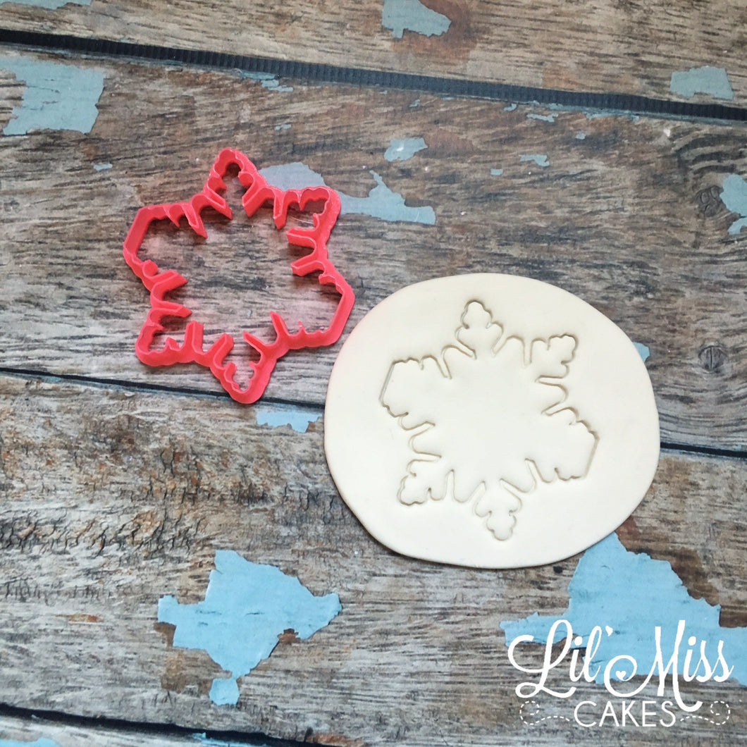 Snowflake Plaque | Lil Miss Cakes