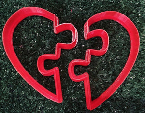 jigsaw puzzle heart cookie cutter
