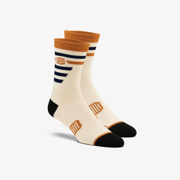 100% Advocate Performance Socks - BEIGE