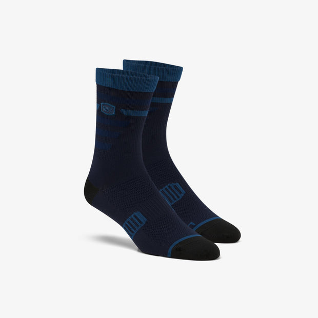 100% Advocate Performance Socks - NAVY