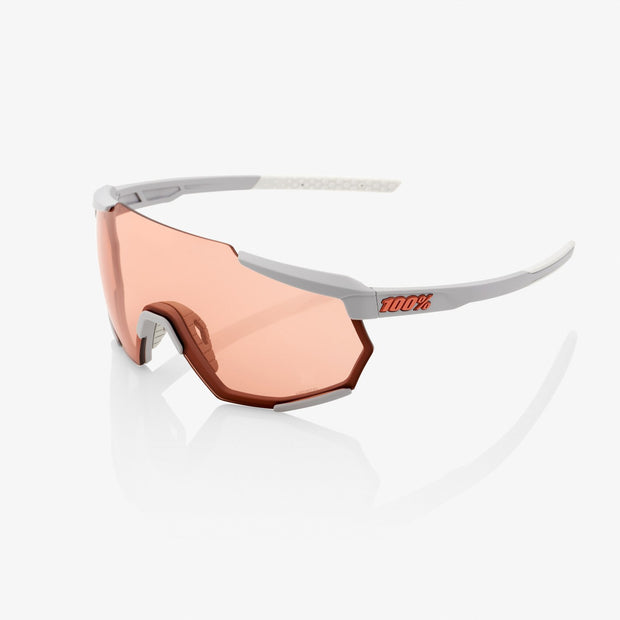 100% Racetrap Sunglasses - Soft Tact Stone Grey