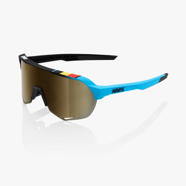 100% S2 Sunglasses - BWR Black