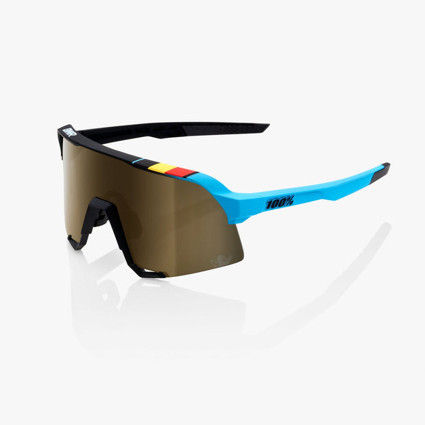 100% S3 Sunglasses - BWR Black